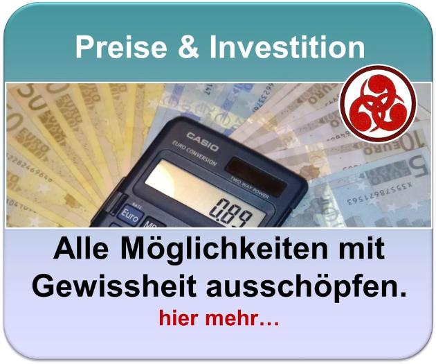 Preise und Investionen